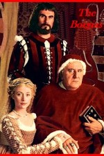 Celi (right) played Pope Alexander VI in The Borgias