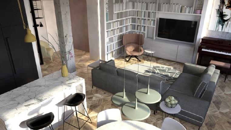 Render progetto architetto Tamara Ninkovic GoPillar