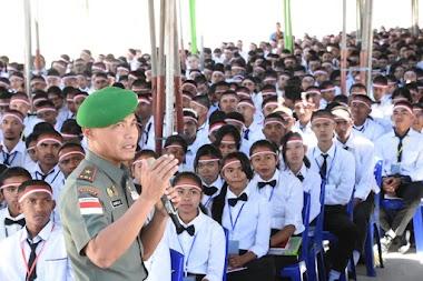 Danrem 161/Wira Sakti bekali Mahasiswa Baru Unwira Kupang