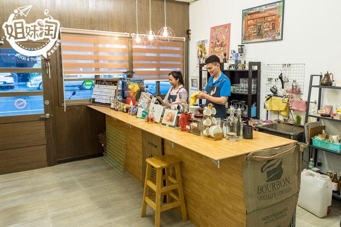 咖啡 屏東市 屏東美食 推薦  雁行咖啡 nomads cafe 素食 蔬食 咖啡 點心 下午茶 獨家 手沖