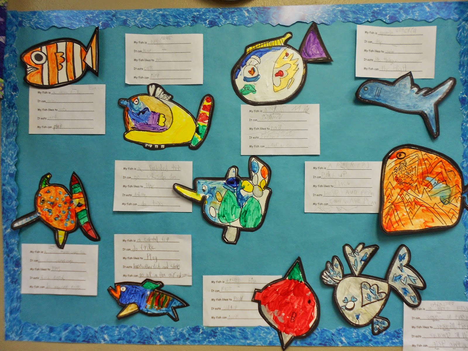 Fish Hooray Worksheet