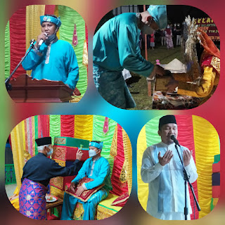 Amren Kepala Desa tinjul setelah di Lantik  melakukan Acara syukuran  Dan do'a Selamat Bersama Masyarakat Desa tinjul