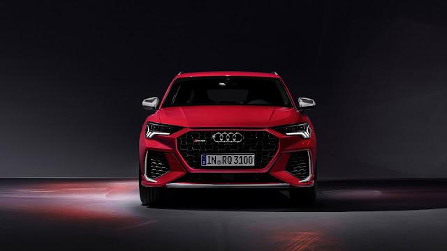 Audi Red Color Sports Car 2020 Wallpaper