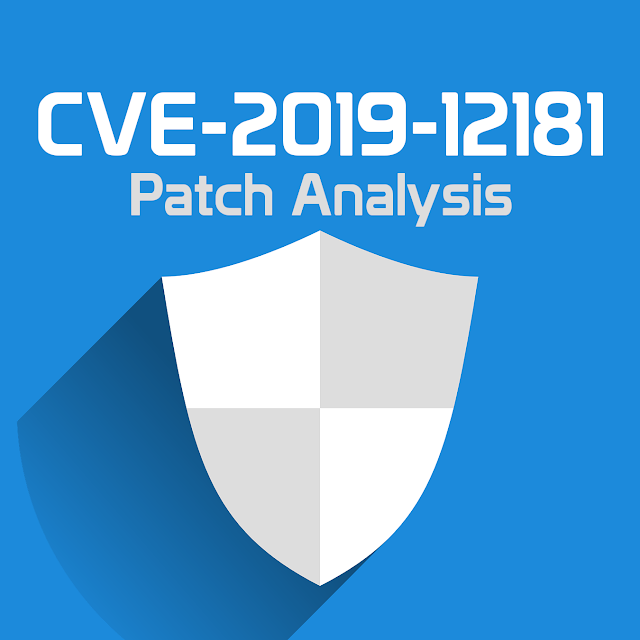 CVE-2019-12181 patch analysis