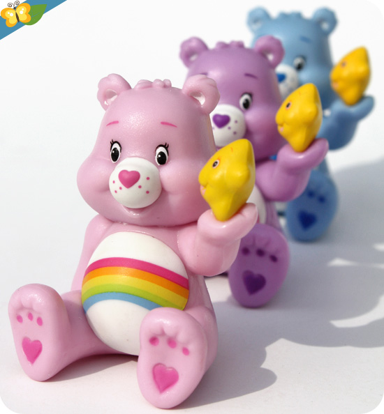 Mini-figurines Bisounours - Carebears - série 1