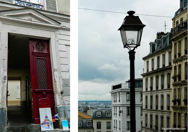 Bairro de Montmartre, Paris