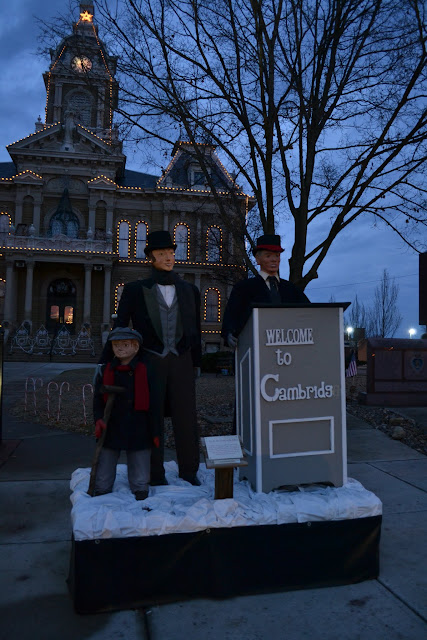 Різдвяне місто Чарльза Діккенса - Кембридж, Огайо (Dickens Victorian Village of Cambridge, OH)