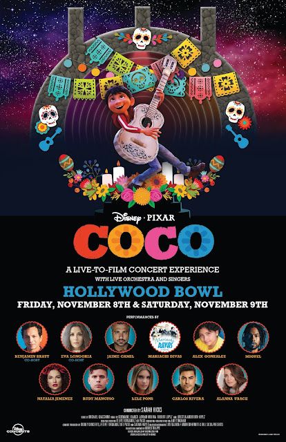 Coco at Hollywood Bowl Poster