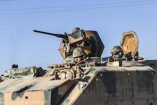 Jet Tempur Syiah Assad Serang Pasukan Turki di Suriah