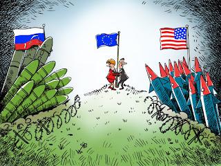 Ilustrasi Kekuatan Nuklir Kedua Negara