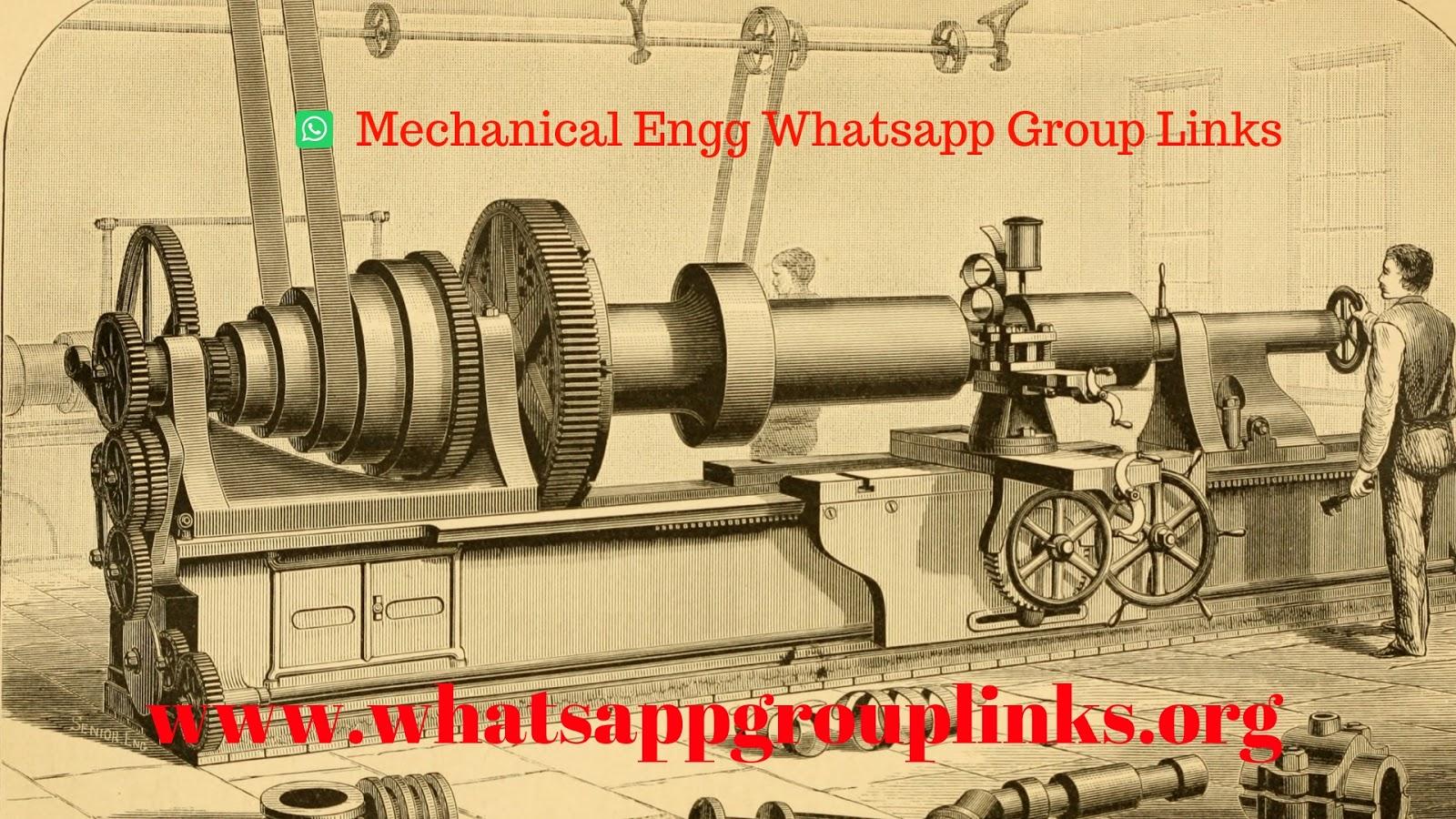 Join Mechanical Engineering Whatsapp Group Links List 2018 -8549