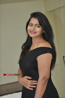 Telugu Actress Swathi Reddy Latest Stills in Black Gown  0042.JPG
