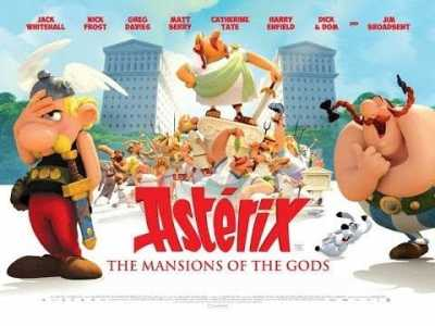 Asterix And Obelix Mansion Of The Gods Hindi + English Full Movies 2014