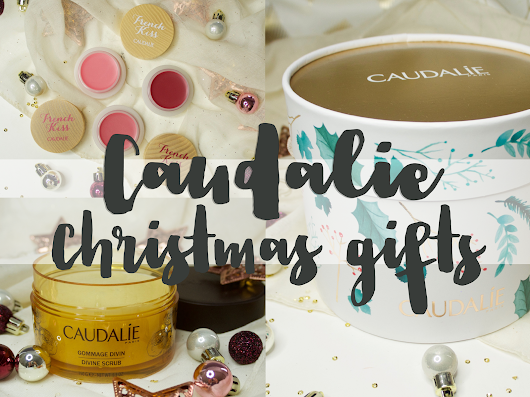 Caudalie Christmas gifts - The Divine Body Collection and French Kiss Trio