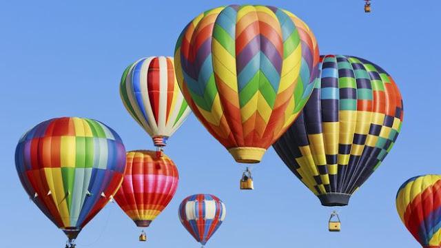 Mengapa Balon Udara Dapat Terbang?