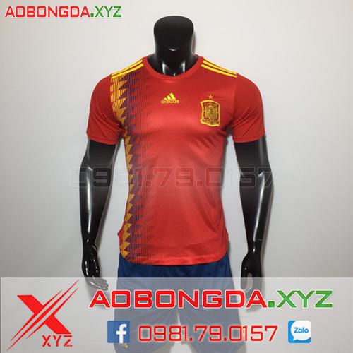 Áo Đội Tuyển Tây Ban Nha 2019 Sân Nhà