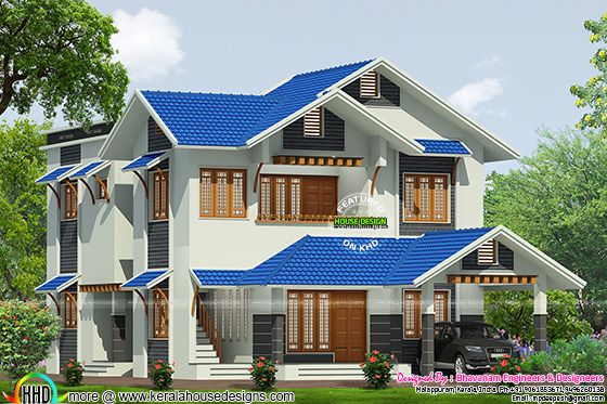 House plan by Bhavanam Engineers & Designeers