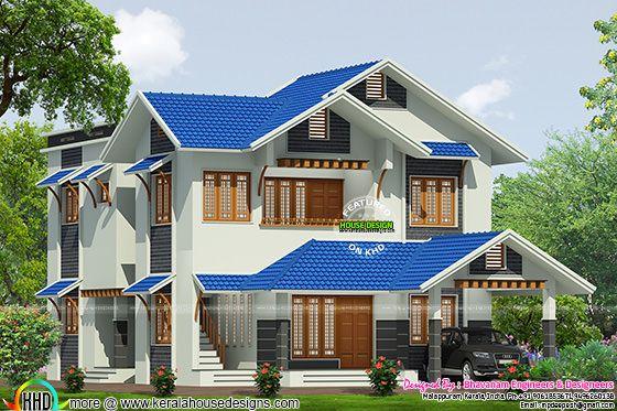 House plan by Bhavanam Engineers & Designeers