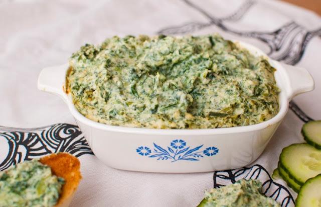 Vegan Jalapeño Spinach Dip #vegan #appetizers
