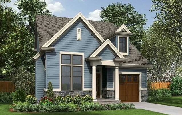 Simple House with Garage