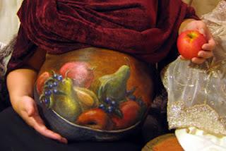 Inilah 11 Lukisan di Perut Ibu Hamil Yang Sangat unik dan Indah