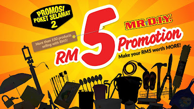 MR DIY Malaysia RM5 Sale Offer Promotion
