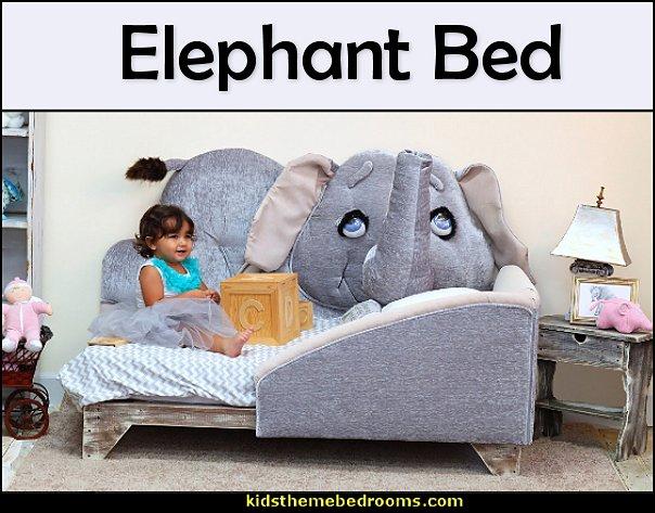 elephant toddler bed - animal shape bed - theme bed - Animal themed toddler Beds - toddler animal beds