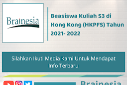 Beasiswa Kuliah S3 di Hong Kong (HKPFS) Tahun 2021- 2022