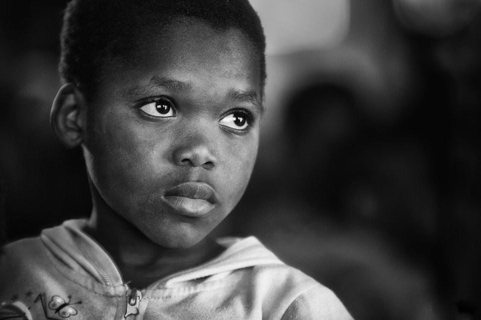 Poor African Kid
