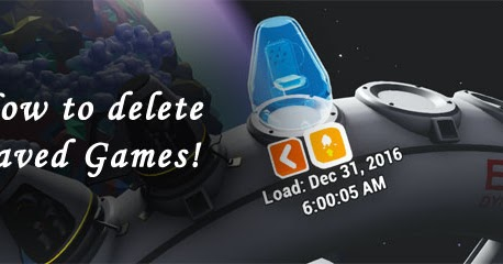 Astroneer: How to delete saved game from Astroneer?
