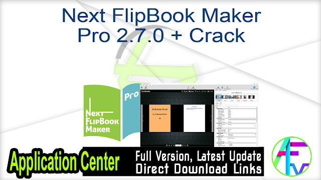 Next FlipBook Maker Pro 2.7.0 + Crack