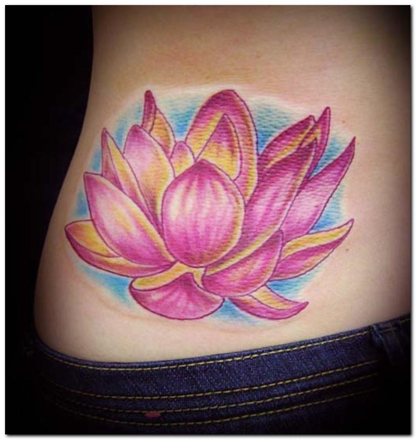 Lotus flower tattoo stencils | Sopho Nyono