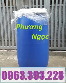 Thùng phuy nhựa nắp mở, thùng phuy đựng thực phẩm, thùng phuy đựng hóa chất 484a195db8715d2f0460