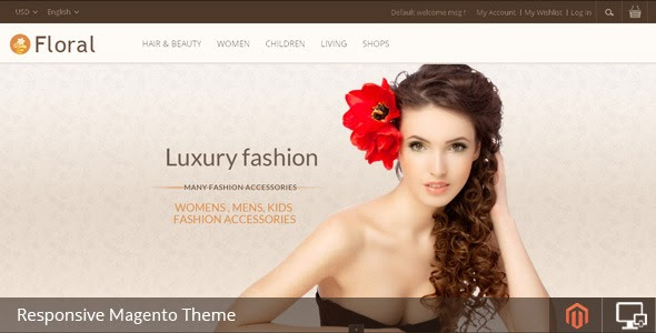 Luxury fashion store theme