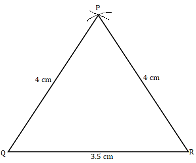 NCERT Solutions for Class 7 Maths Ch 10 Practical Geometry Exercise 10.2 Answer 3