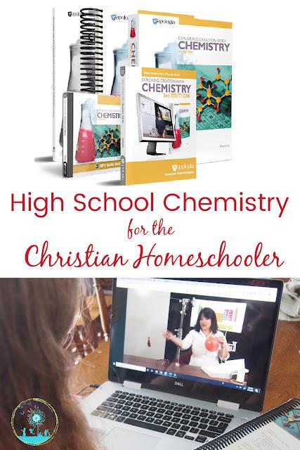 High School Chemistry for the Christian Homeschooler