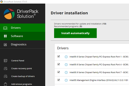 DriverPack Solution v17.4.5 For Pc