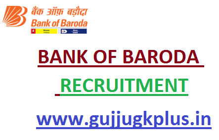 Bank Of Baroda Recruitment for Specialist Officers 2020