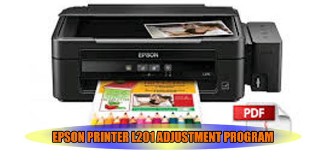 EPSON L201 PRINTER ADJUSTMENT PROGRAM
