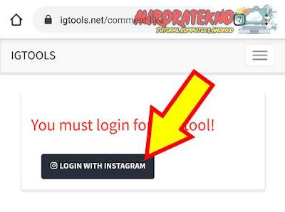 login instagram account