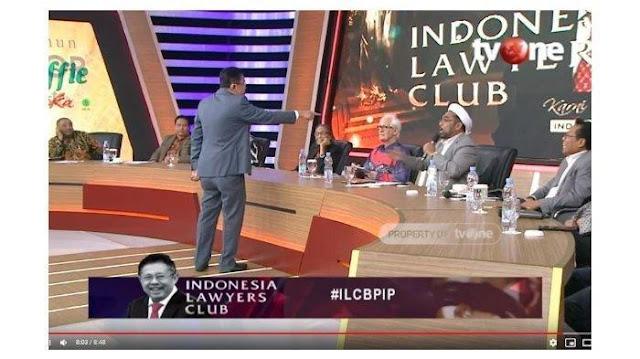 Detik-detik Karni Ilyas Tunjuk-tunjuk Ali Ngabalin Sampai Sebut ILC tvOne Malam Itu Memalukan