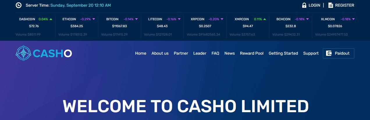 Мошеннический сайт casho.io – Отзывы, развод, платит или лохотрон? Информация