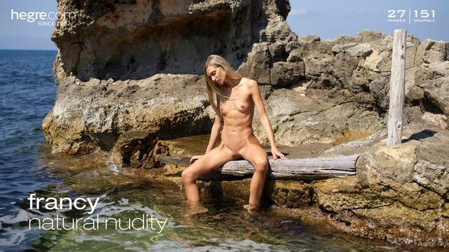 [Hegre-Art] Francy - Natural Nudity
