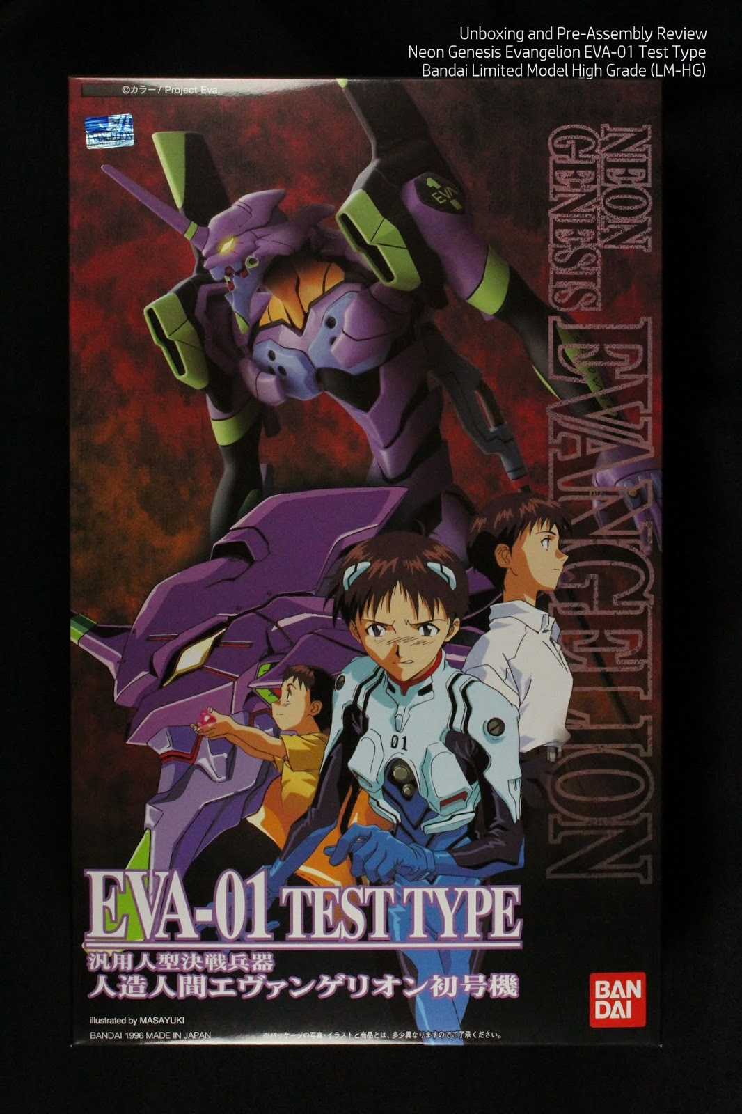 Art And Musings Of A Miniature Hobbyist Bandai Lm Hg Neon Genesis Evangelion Eva 01 Test Type Unboxing And Pre Assembly Review