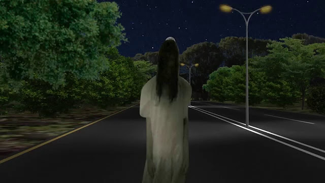 Les autoroutes ou les routes hantées font référence aux rues, aux routes ou aux autoroutes faisant l'objet de folklore et de légendes urbaines. Cela comprend les rumeurs et les rapports sur les apparitions de fantômes, les silhouettes de fantômes, les auto-stoppeuses fantômes, les véhicules fantômes, ou les autres phénomènes paranormaux.