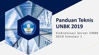 Cara Sinkronisasi UNBK 2019