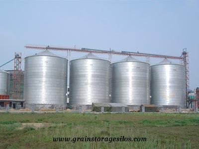 flat bottom silos