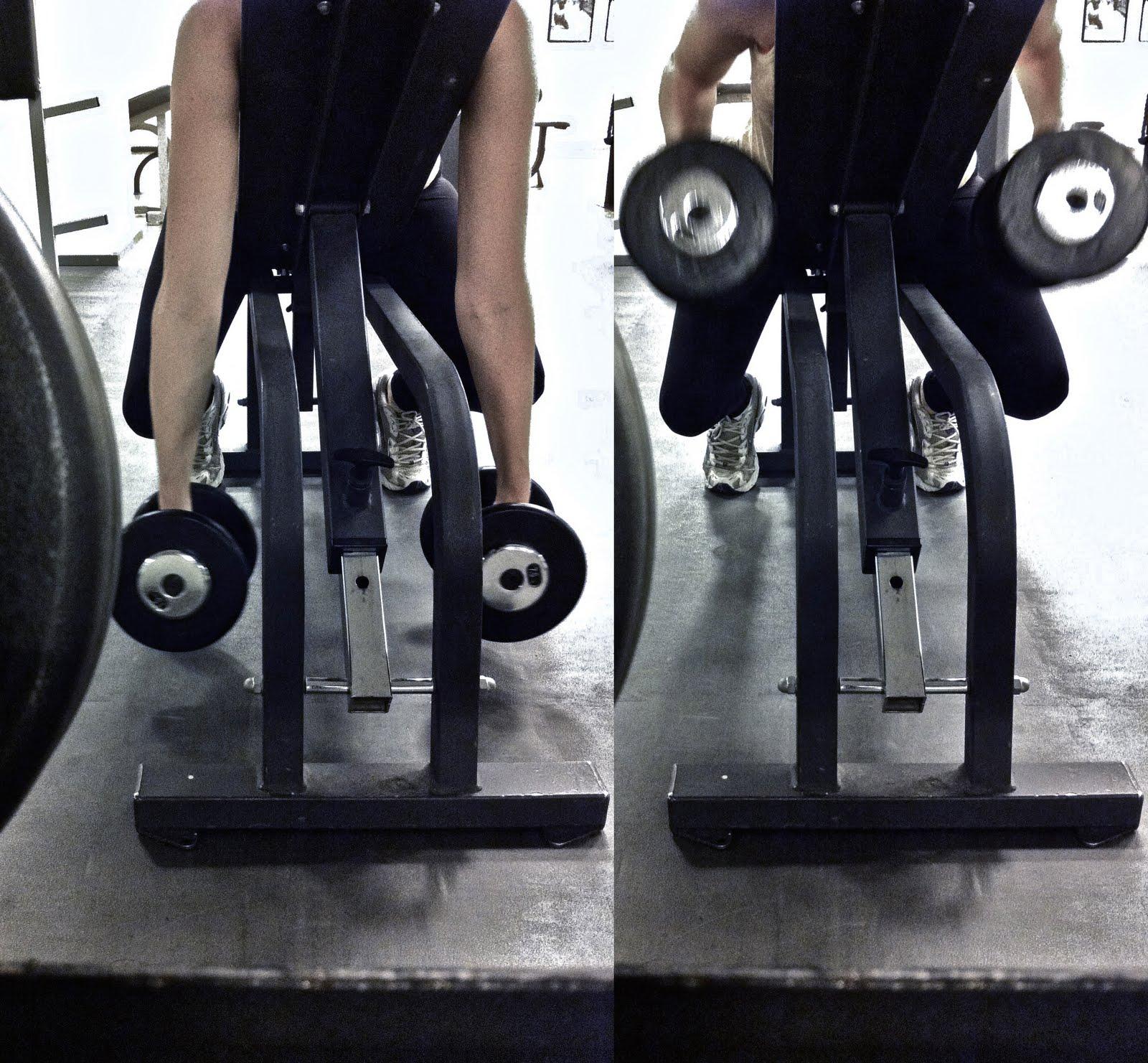 mage rygg övningar gym