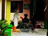 Alhamdulillah Kondisi Nenek Renta Pasien Covid-19 di Pangkep Berangsur Membaik