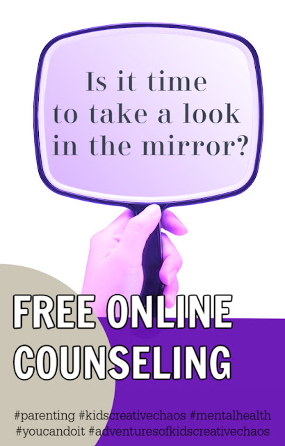 Is it time to take a look in the mirror? Free online relationship counseling.